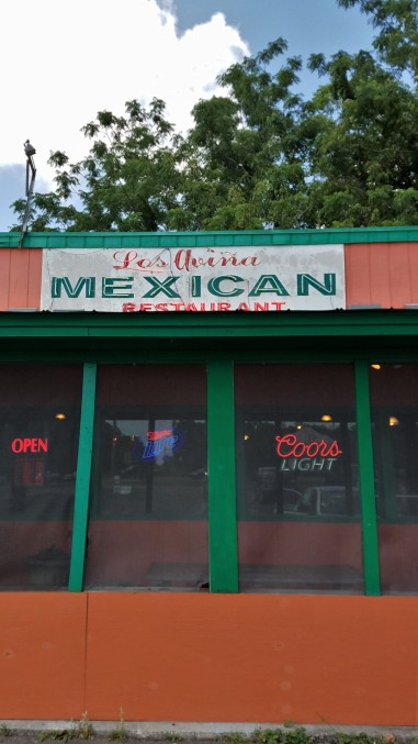 Lunch at Los Avina Mexican Restaurant in Archer!